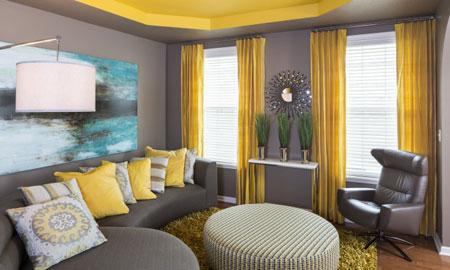 نحوه انتخاب رنگ ,تکنیک های انتخاب رنگ,رنگ آمیزی منزل