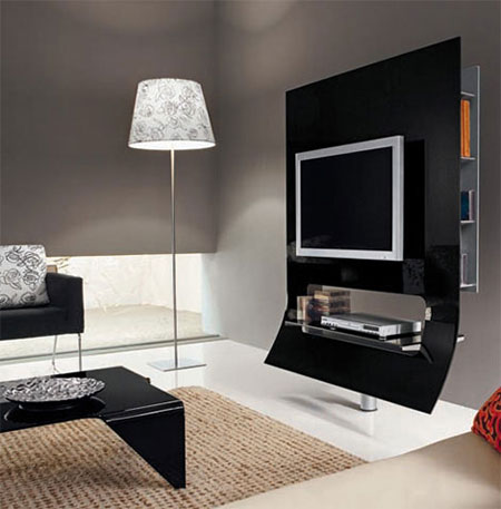 دکوراسیون میز تلویزیون,نکاتی برای نصب تلویزیون