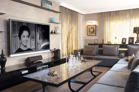 مکان قرار دادن تلویزیون,نکاتی برای نصب تلویزیون