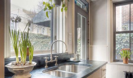 شیرآلات آشپزخانه,انتخاب شیرآلات مناسب,شیرآلات متصل به سینک آشپزخانه
