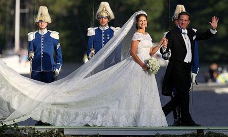 تصاویر لباس عروسی پرنسس های جهان,طراحان لباس های عروس پرنسس ها