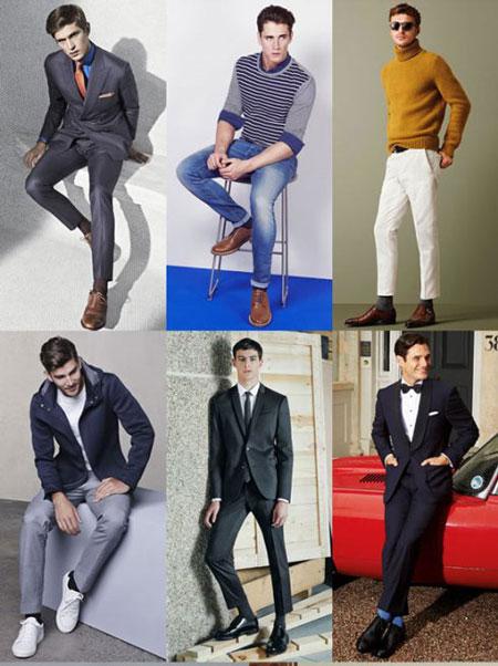 نحوه خوش تیپی آقایان,نحوه پوشش آقایان