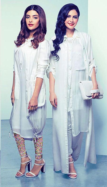 طراحی لباس برای ماه رمضان,مدل لباس DKNY رمضان 2015