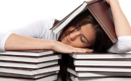 جلوگیری از خواب آلودگی به هنگام مطالعه