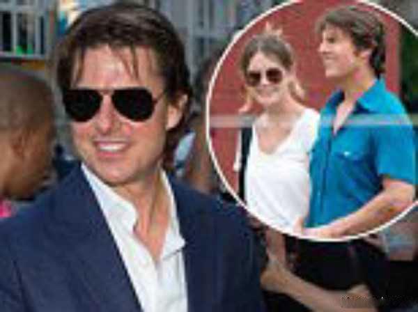 عکس تام کروز و همسر جدیدش