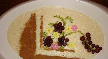 عکس های تزیین فرنی و شیربرنج سفره افطار