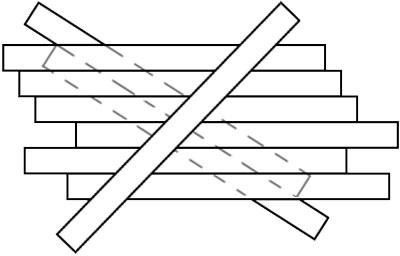 تست هوش تصویری خطای دید برداشتن چوب ها