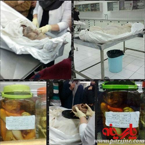 گرفتن عکس یادگاری با اجساد مردگان توسط دانشجوها