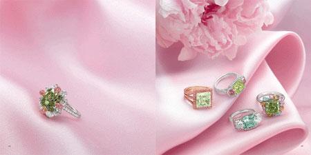 مدل جواهرات و الماس های زیبای LEVIEV
