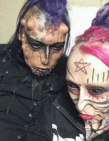 دختر شیطان پرست
