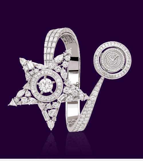 مدل ساعت الماس و طلا شنل Chanel