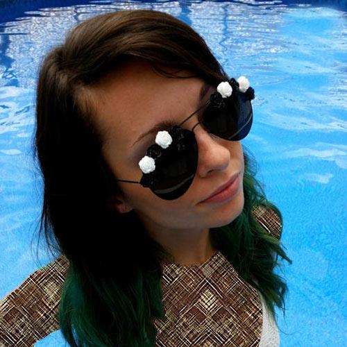 جدیدترین مدل عینک زنانه سال 2015