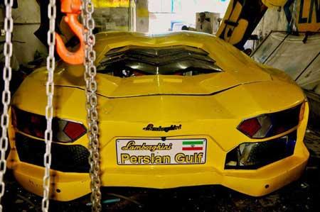لامبورگینی ایرانی