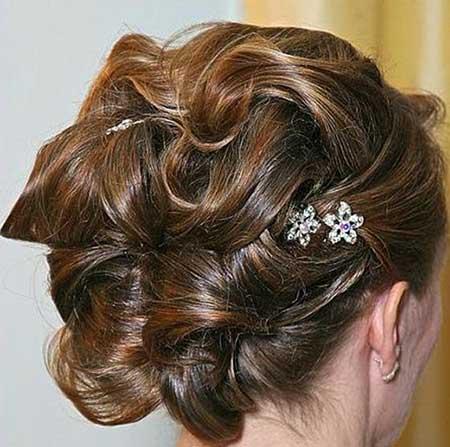 مدل موهای شیک زنانه برای مراسمات خاص