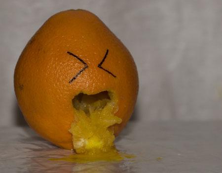 عکس های خنده دار از میوه ها