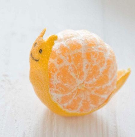 عکس های خنده دار و توپ از میوه ها