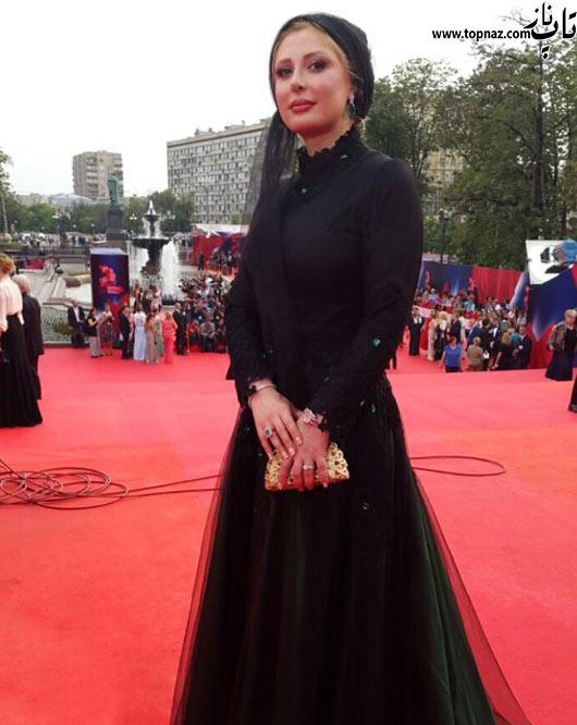 طلاق نیوشا ضیغمی از همسرش عکس نیوشا ضیغمی با مدل لباس متفاوت در خارج ایران