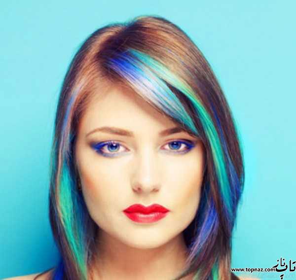 مدل رنگ مو 2016 و مدل هایلایت مو 2016
