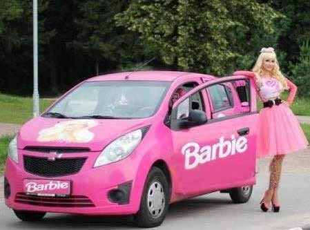 عکس های دختر 28 ساله روسی که کپی عروسک باربی است!