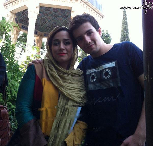عکس امیر کاظمی و همسرش