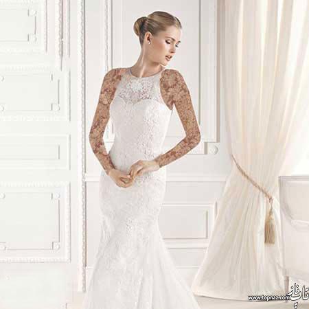 مدل لباس عروس اروپایی جذاب