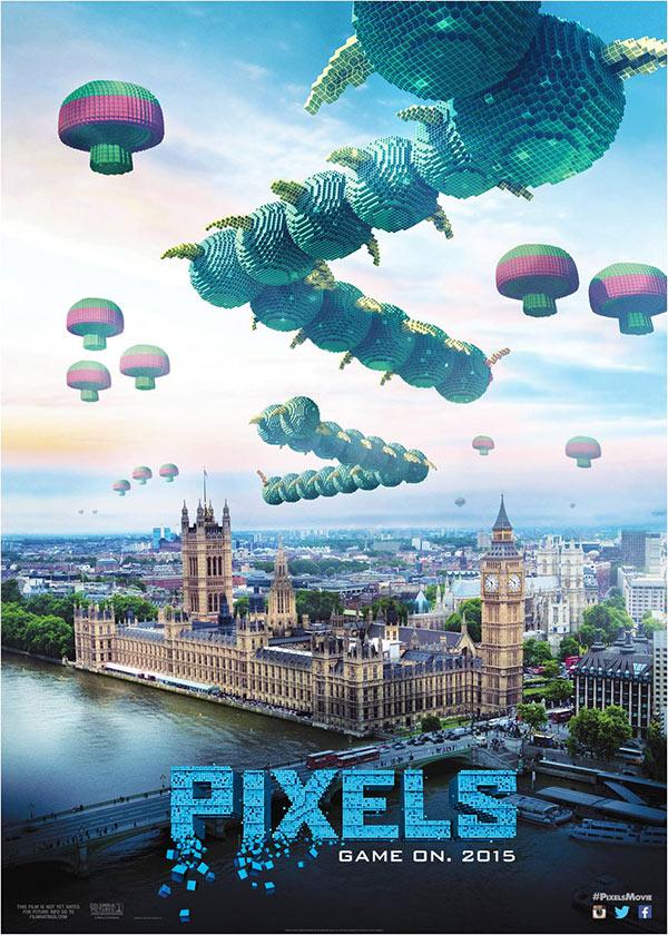 فیلم پیکسل ها Pixels 2015