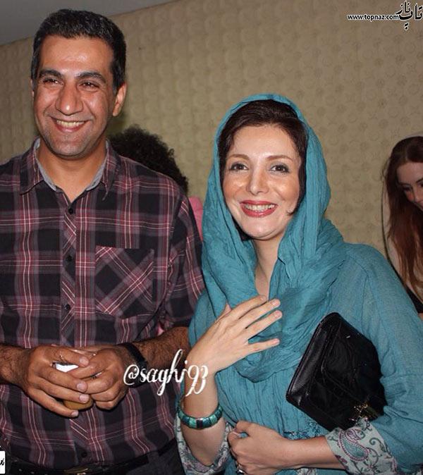 عکس رویا میرعلمی و همسرش