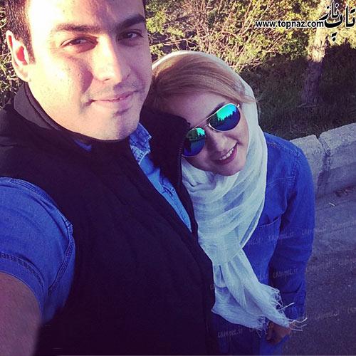 عکس المیرا عبدی و همسرش