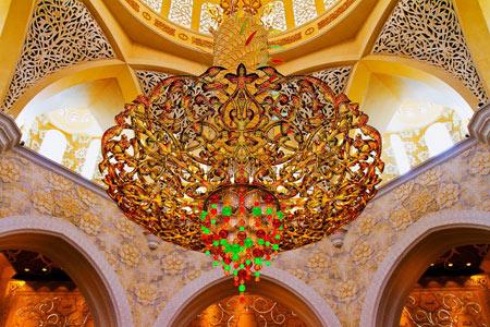 مسجد شیخ زاید,مسجد شیخ زاید در ابوظبی, مسجد شیخ زاید در امارات