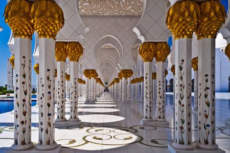 مسجد شیخ زاید,دیدنی های امارات, مسجد شیخ زاید در ابوظبی