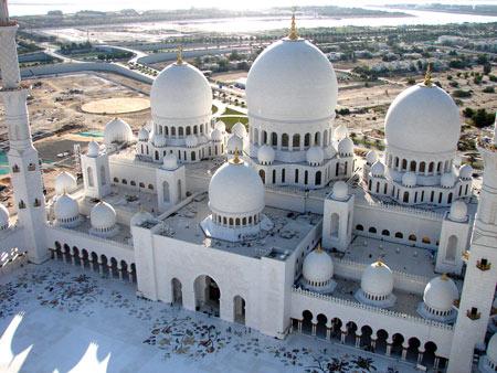 مسجد شیخ زاید,عکس های مسجد شیخ زاید در امارات, مسجد شیخ زاید در ابوظبی