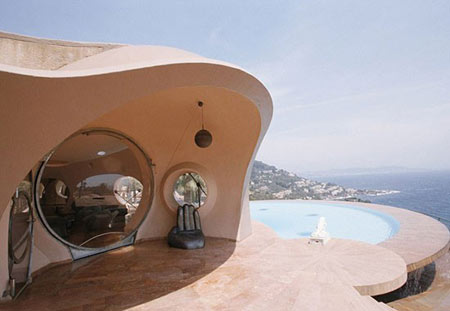 مکانهای عجیب و غریب,Bubble House, تصاویر هتل حبابی در فرانسه