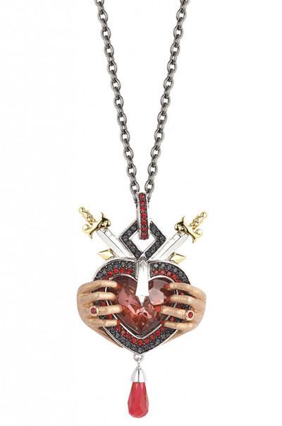 جواهرات هفت گناه کبیره, مدل جواهرات گناه خشم