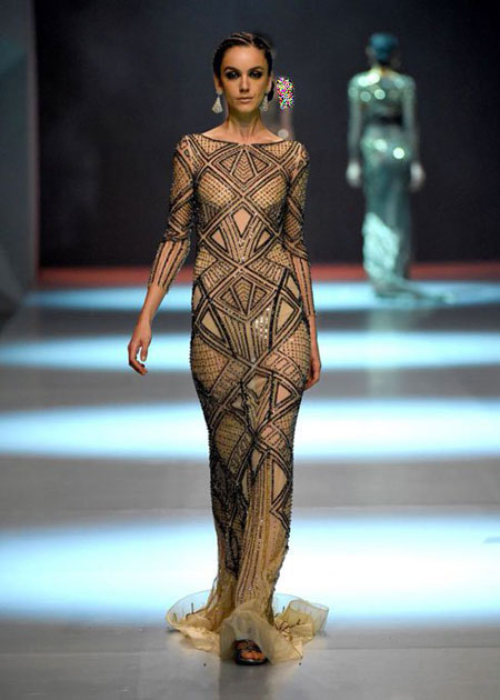 مدل لباس شب برای بهار و تابستان 2015