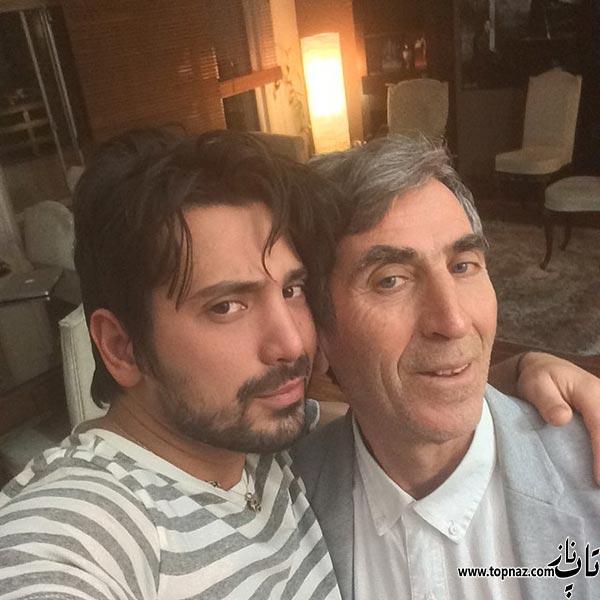 بیوگرافی امیر عباس گلاب |عکس های همسر و زندگی شخصی و دانلود آهنگ های معروف