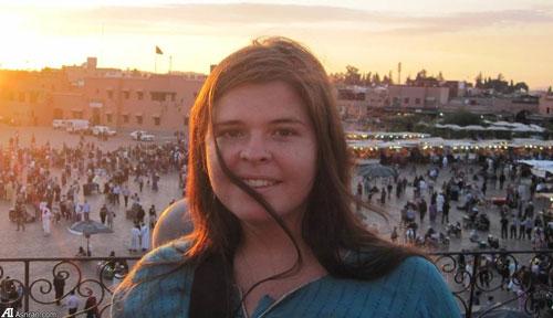 این زن 26 ساله برده جنسی سرکرده داعش است