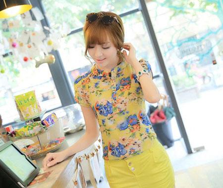 عکس های مدل بلوز دخترانه کره ای