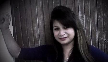 عکس دختر مکزیکی جوان که در قبر زنده شد!