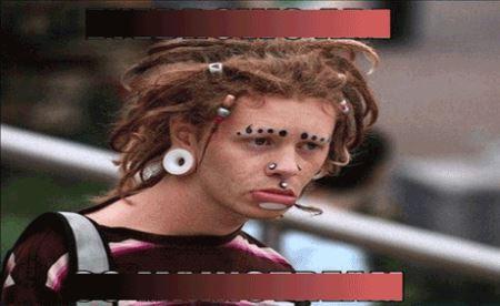 عکس های دختران زشت با خنده دارترین مدل ابرو