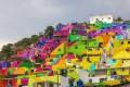 عکس های زیبای شهر رنگین کمانی در مکزیک
