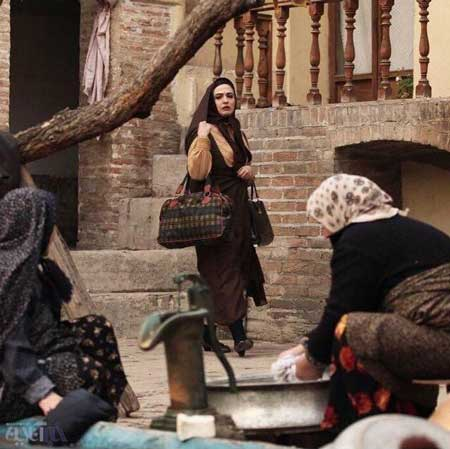 عکسی از پشت صحنه سریال شهرزاد که گلاره عباسی منتشر کرد
