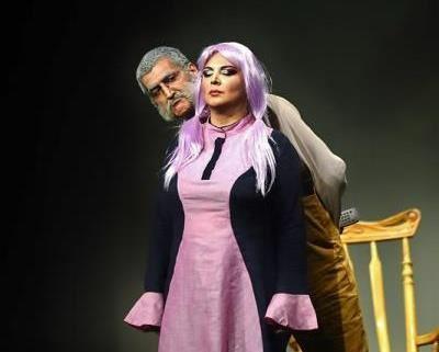 عکس های جنجالی بازیگران زن در تئاتر شهره سلطانی