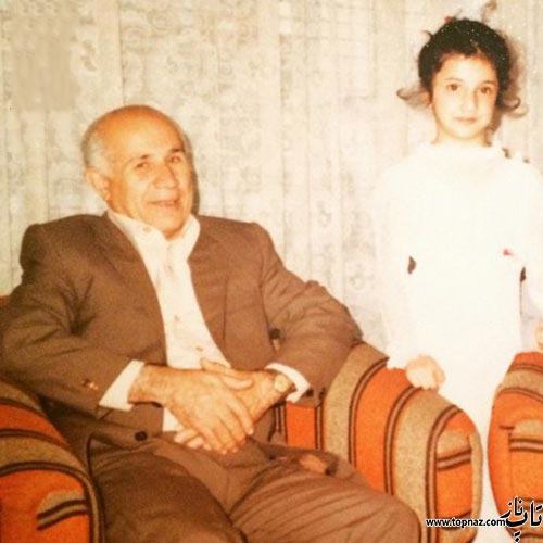 عکس دیده نشده از کودکی شبنم قلی خانی