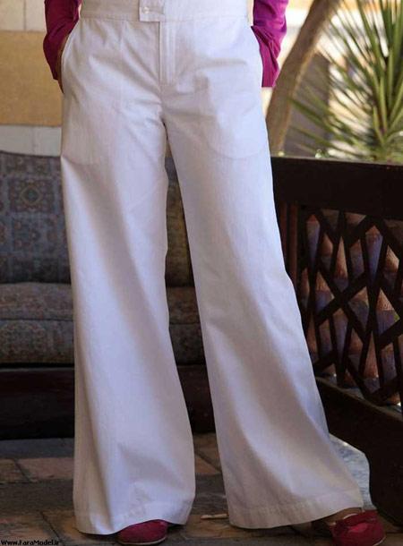 مدل جدید شلوار تابستانه زنانه شیک