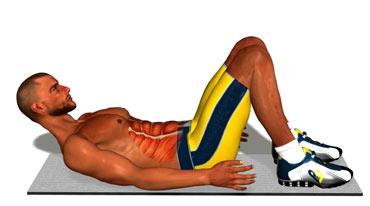 آموزش حرکت ورزشی برای سفت کردن و زیبا کردن عضلات شکم