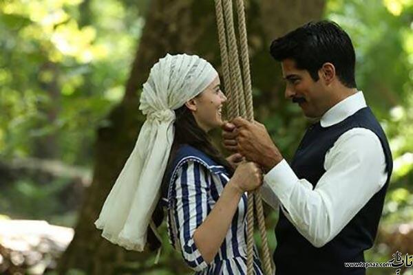 عکس های کامران و فریده در سریال چکاوک