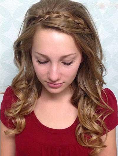 مدل موهای باز دخترونه شیک و جذاب
