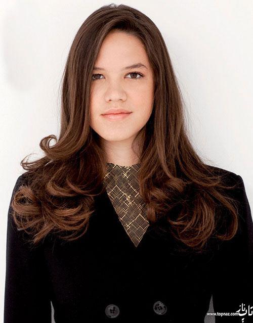 مدل موی بلند فر و ساده دخترانه و زنانه