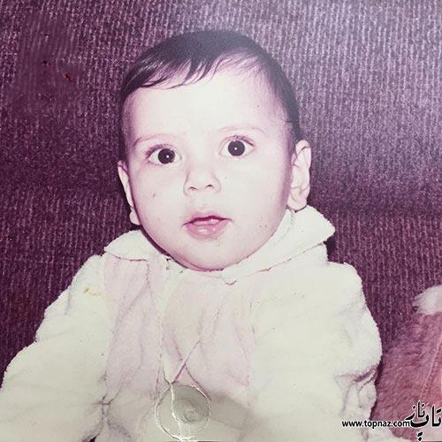 عکس دیده نشده و جالب از کودکی مونا فرجاد