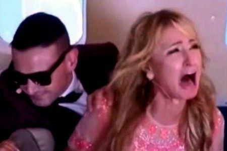 شوکه شدن و گریه کردن پاریس هیلتون به دلیل دوربین مخفی!